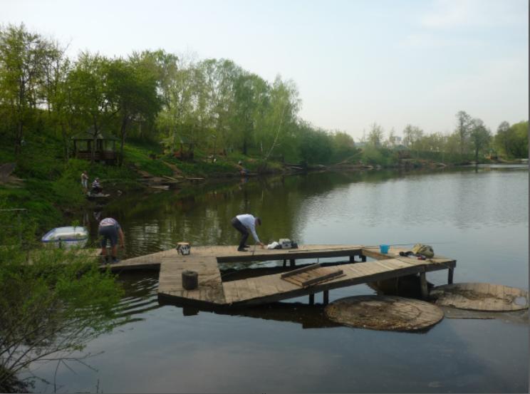 Рыбалка в Машково