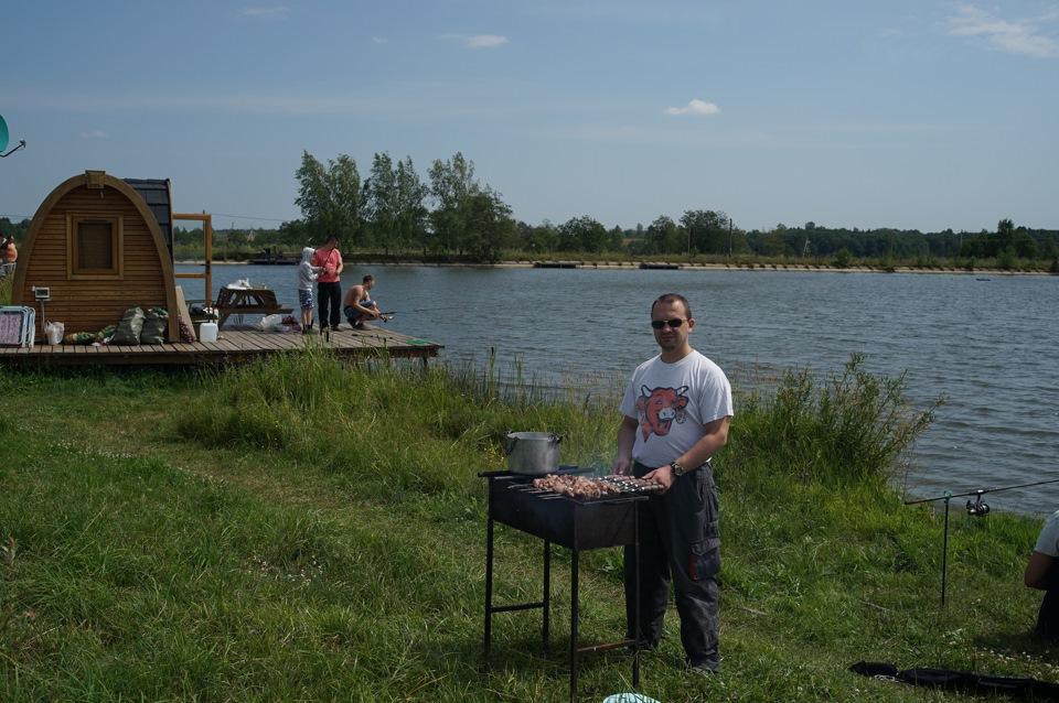 Львовские пруды рыбалка
