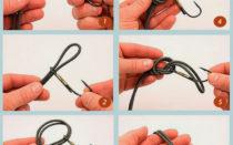 Как привязать крючок для рыбалки?