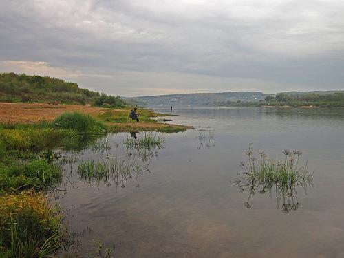 Рыбалка на Оке в Серпуховском районе
