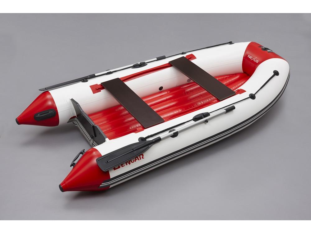 Лодка ПВХ с надувным дном