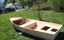 Чертежи самодельной лодки из фанеры