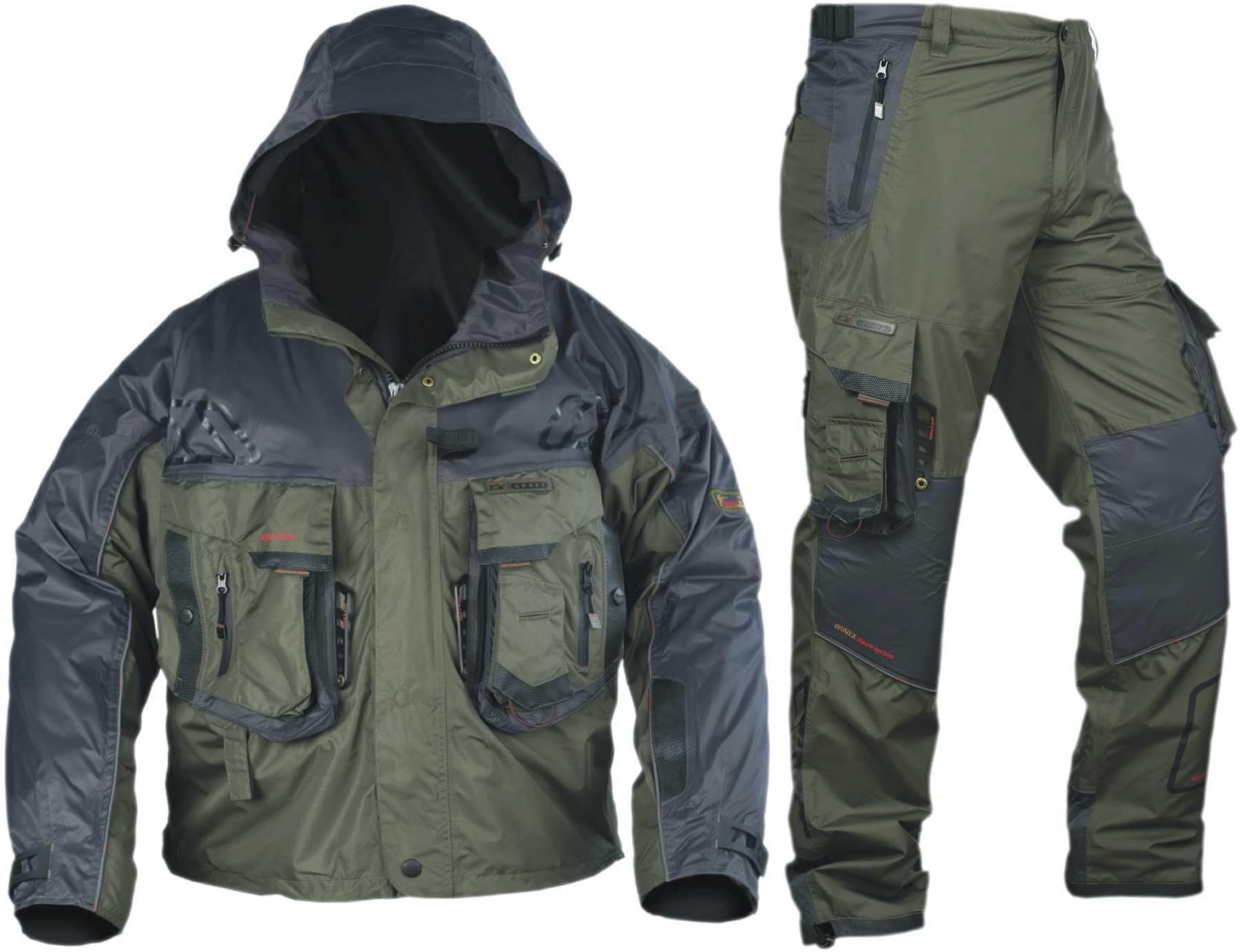 Непромокаемая одежда для рыбалки и охоты