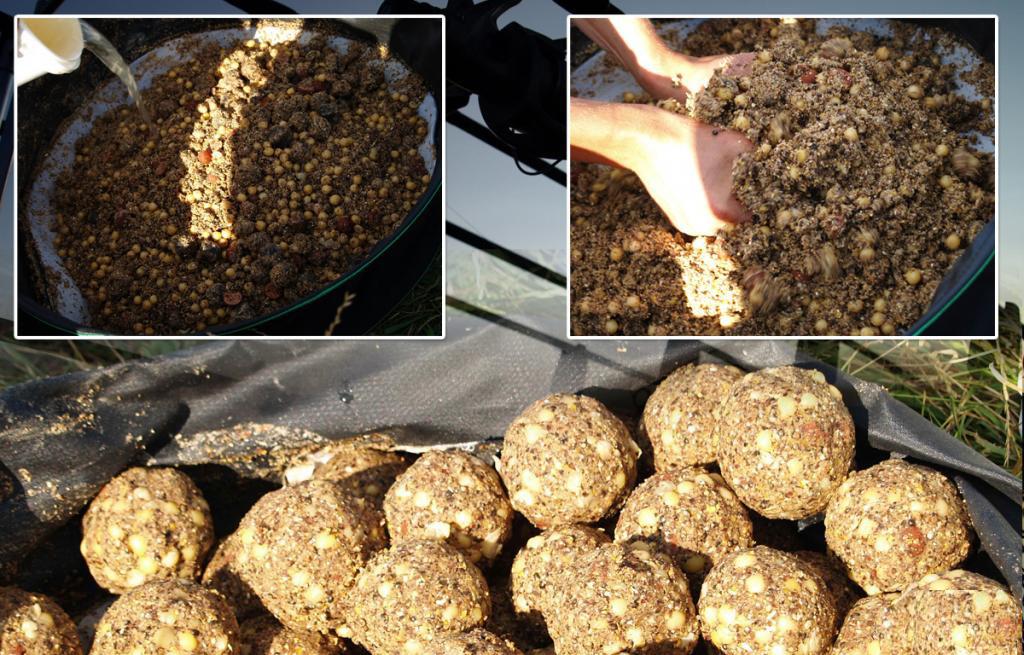прикормка для карпа с горохом и пшеном