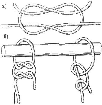 Схемы вязки морских узлов
